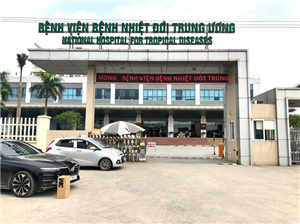 Công ty CP khách sạn Hồng Vận đã trao tặng 02 máy trợ thở cho Bệnh Viện Nhiệt Đới Trung Ương.